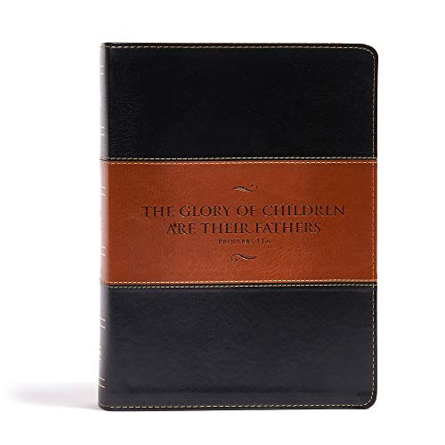 KJV Study Bible, Father's Edition Black/Tan LeatherTouch
