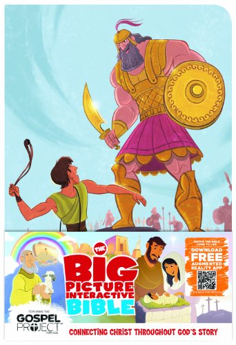 9781433605031: The Big Picture Interactive Bible for Kids, David and Goliath Edition LeatherTouch: Connecting Christ Throughout God's Story (The Gospel Project)