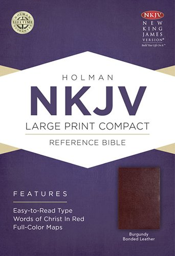 9781433606397: Holy Bible: New King James Version, Burgundy, Bonded Leather, Holman Reference