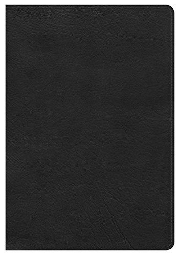 9781433606793: NKJV Large Print Ultrathin Reference Bible, Black LeatherTouch