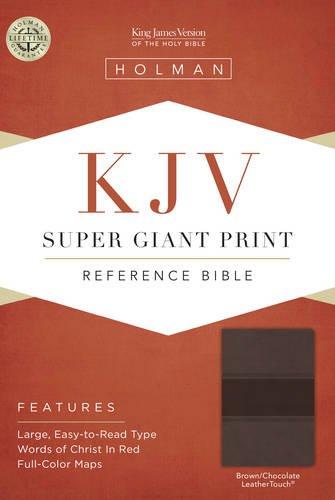 9781433607141: Super Giant Print Reference Bible-KJV