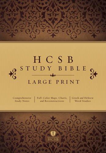 9781433607479: Study Bible-HCSB-Large Print