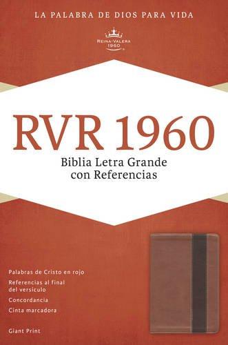 Biblia Letra Grande Con Referencias-Rvr 1960 (Imitation Leather)