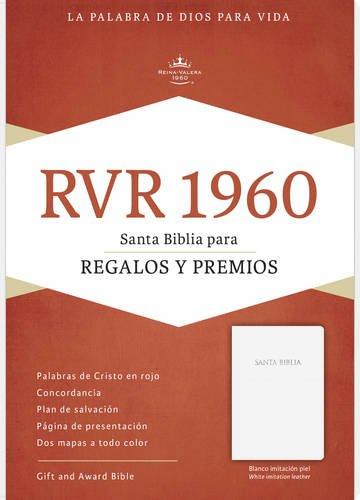 9781433613449: RVR 1960 Biblia para Regalos y Premios, blanco imitación piel (Spanish Edition)
