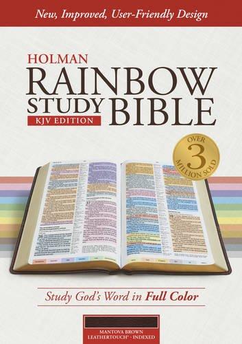 9781433613586: Rainbow Study Bible