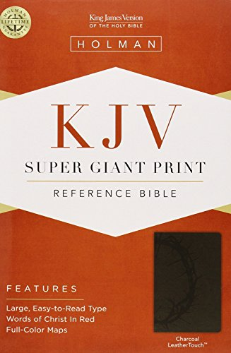 Super Giant Print Reference Bible-KJV (Imitation Leather)