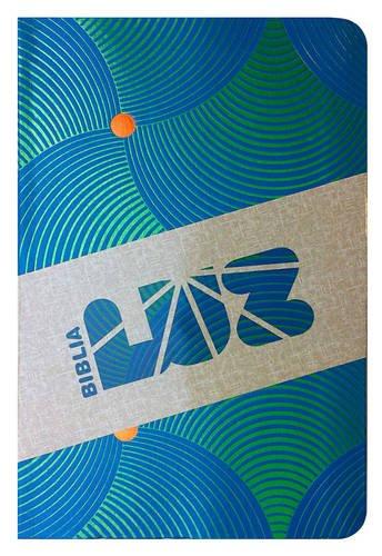9781433614798: RVC Biblia Luz, remolinos de azul/verde símil piel (Spanish Edition)