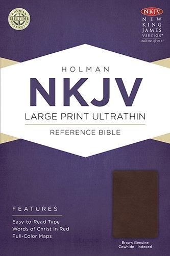 9781433615047: Large Print Ultrathin Reference Bible-NKJV