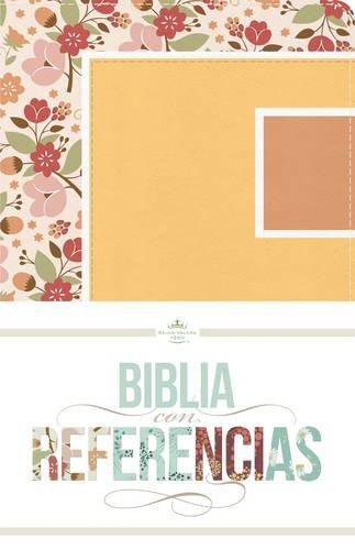 9781433616198: RVR 1960 Biblia con Referencias, floral, durazno/damasco símil piel (Seasons Series) (Spanish Edition)