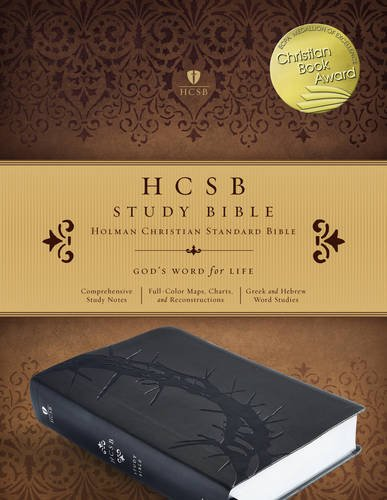 9781433617096: HCSB Study Bible, Charcoal LeatherTouch