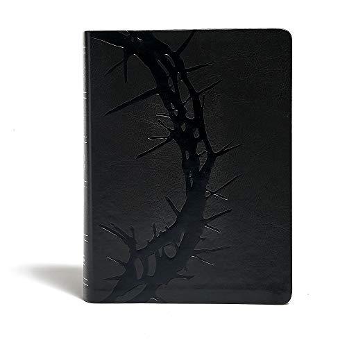 9781433617324: Holman KJV Study Bible: King James Version, Charcoal, Leathertouch