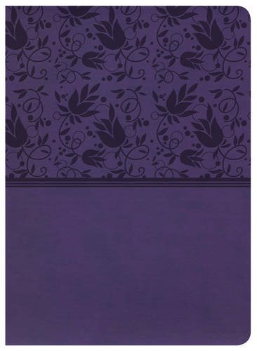 KJV Study Bible, Purple LeatherTouch, Indexed