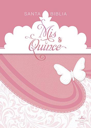 9781433619236: RVR 1960 Biblia Mis Quince, rosa y blanco símil piel (Spanish Edition)