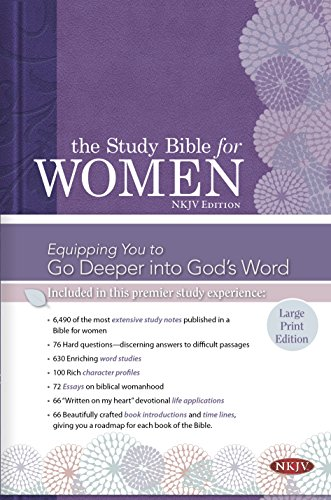 9781433619311: The Study Bible for Women: NKJV Large Print Edition, Hardcover