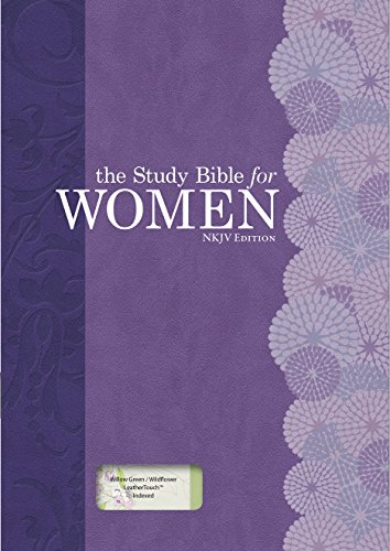 9781433619380: The Study Bible for Women, NKJV Personal Size Edition Willow Green/Wildflower LeatherTouch Indexed