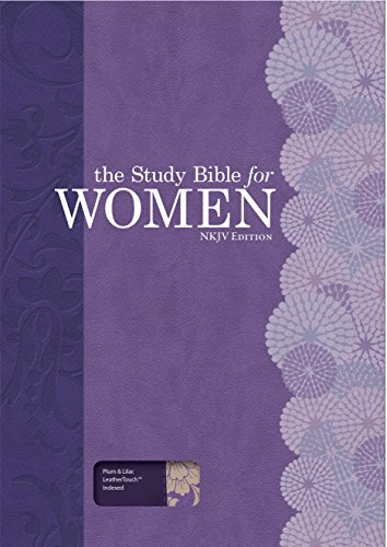 9781433619397: The Study Bible for Women, NKJV Personal Size Edition Plum/Lilac LeatherTouch Indexed