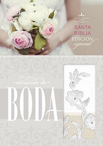 9781433619502: RVR 1960 Biblia Recuerdo de Boda, blanco/lino/encaje símil piel (Spanish Edition)