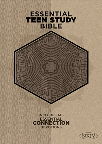 9781433619656: The NKJV Essential Teen Study Bible, Gray Cork LeatherTouch
