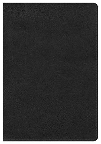 9781433620492: KJV Giant Print Reference Bible, Black LeatherTouch