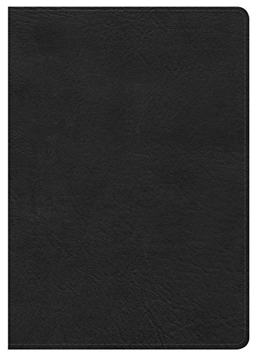 9781433620874: HCSB Large Print Compact Bible, Black LeatherTouch