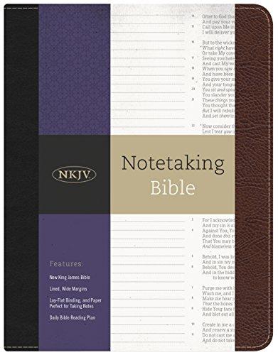 Notetaking Bible-NKJV (Bonded Leather)