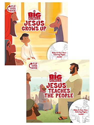 Jesus Grows Up/Jesus Teaches the People (Gospel Project): B&h Kids Editorial; Heath McPherson