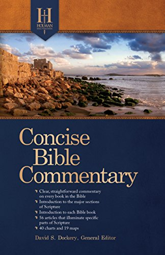 9781433646737: Holman Concise Bible Commentary