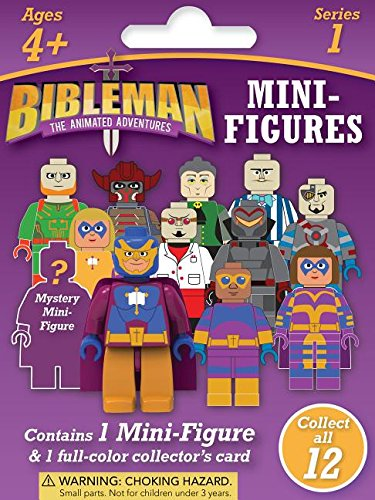 Bibleman Mini Figure