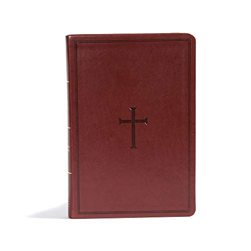 9781433647888: CSB Giant Print Reference Bible, Brown LeatherTouch, Indexed