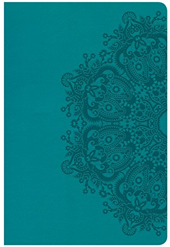 9781433648120: CSB Giant Print Reference Bible, Teal LeatherTouch