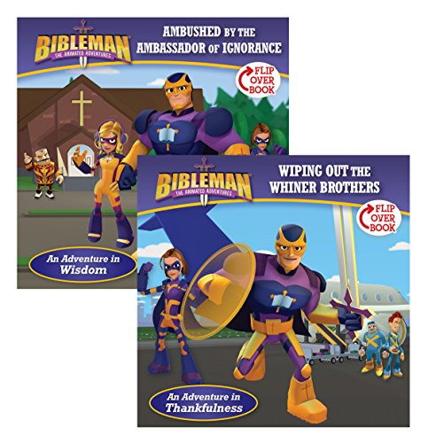 9781433649417: Ambushed by the Ambassador of Ignorance/Wiping Out the Whiner Brothers, Flip-Over Book (Bibleman)