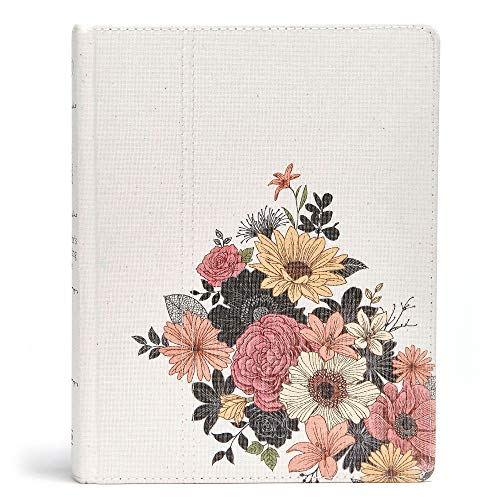 9781433649684: The Illustrator's Notetaking Bible: NKJV Edition, Floral Canvas Over Board