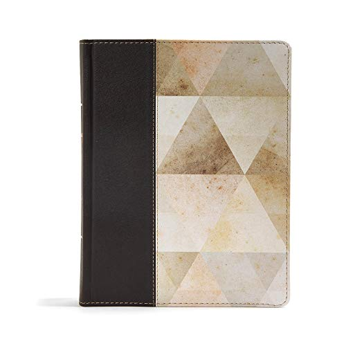 CSB Notetaking Bible, Brown Leathertouch Over Board: CSB Bibles By Holman
