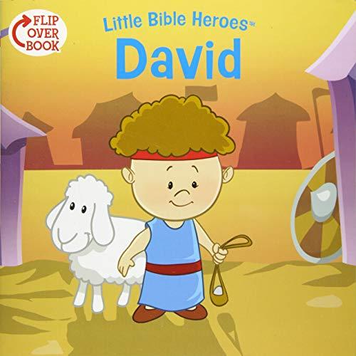 9781433687136: David/Esther Flip-Over Book (Little Bible Heroes™)