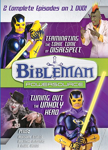 9781433691003: Bibleman PowerSource Vol. 8: Terminating the Toxic Tonic of Disrespect / Tuning Out the Unholy Hero: Disrespect and Heroes