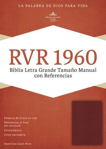 9781433691133: Santa Biblia: Reina-valera 1960 Tamaño Manual Con Referencias, Borgoña Imitación Piel