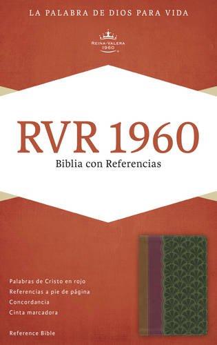 9781433691225: RVR 1960 Biblia con Referencias, chocolate/ciruela/verde jade símil piel (Spanish Edition)