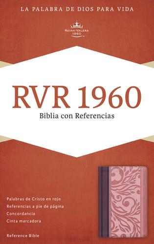 9781433691232: RVR 1960 Biblia con Referencias, borravino/rosado símil piel (Spanish Edition)