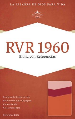 9781433691256: RVR 1960 Biblia con Referencias, mango/fresa/durazno claro símil piel (Spanish Edition)