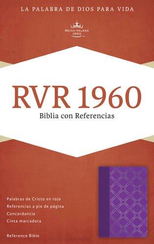9781433691300: RVR 1960 Biblia con Referencias, violeta con plateado símil piel (Spanish Edition)