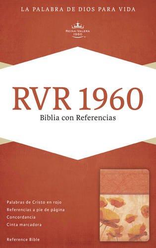 9781433691539: RVR 1960 Biblia con Referencias, damasco/coral símil piel (Spanish Edition)