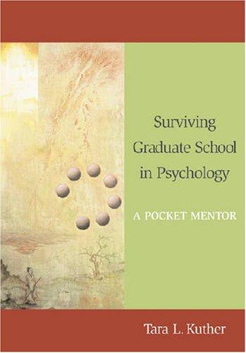 9781433803468: Surviving Graduate School in Psychology: A Pocket Mentor