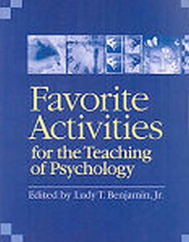 9781433803499: Favorite Activities for the Teaching of Psychology
