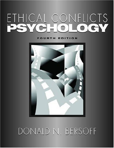 9781433803505: Ethical Conflicts in Psychology