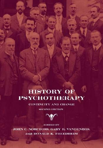 9781433807626: History of Psychotherapy: Continuity and Change