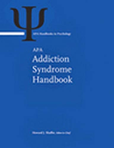 APA Addiction Syndrome Handbook (Hardback)