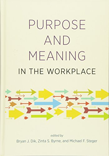 9781433813146: Purpose and Meaning in the Workplace