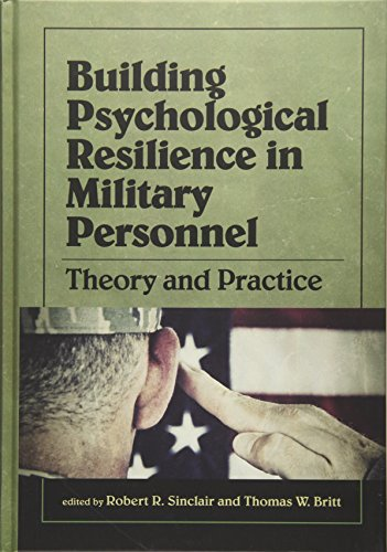 9781433813313: Building Psychological Resilience in Military Personnel: Theory and Practice