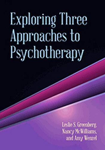 9781433815201: Exploring Three Approaches to Psychotherapy