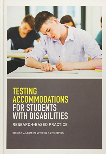 Testing Accomodations for Students With Disabilities: Lovett, Benjamin J./
